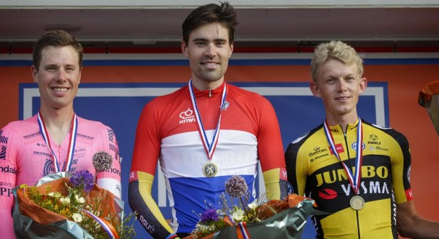 Том Дюмулин - чемпион Нидерландов 2021 года в гонке с раздельным стартом