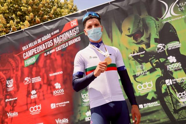 Жуан Алмейда – чемпион Португалии-2021 в индивидуальной гонке на время