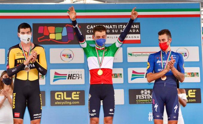 Маттео Собреро одерживает победу в «разделке» на чемпионате Италии