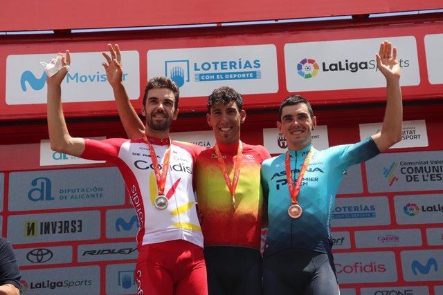 Омар Фраиле становится чемпионом Испании в групповой гонке