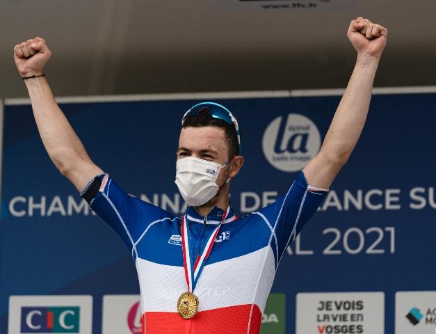 Реми Каванья – чемпион Франции-2021 в групповой гонке