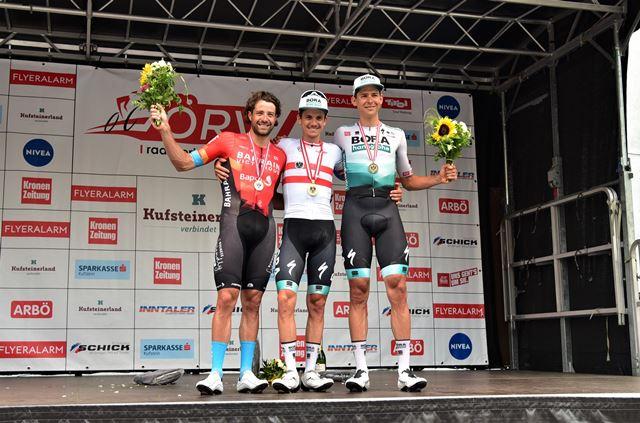 Победы велогонщиков команды Bora-hansgrohe на национальных чемпионатах-2021