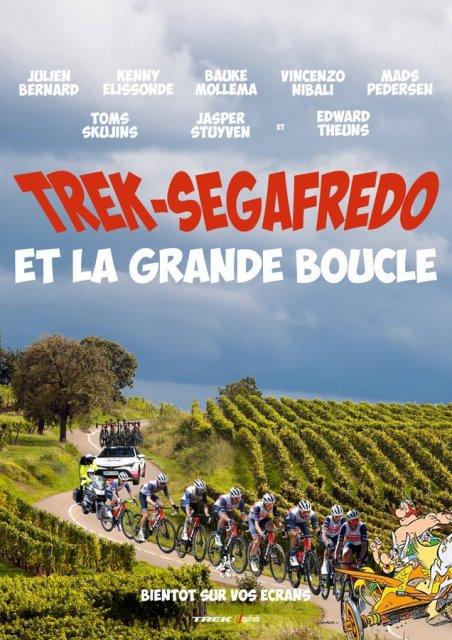 Состав команды Trek-Segafredo на Тур де Франс-2021