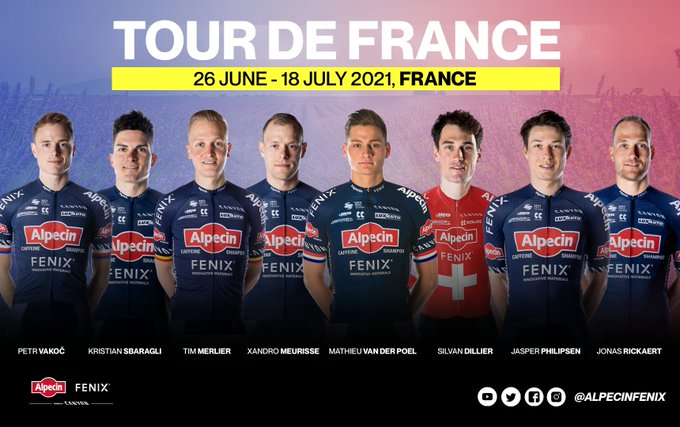 Матье ван дер Пул возглавит команду Alpecin-Fenix на Тур де Франс-2021