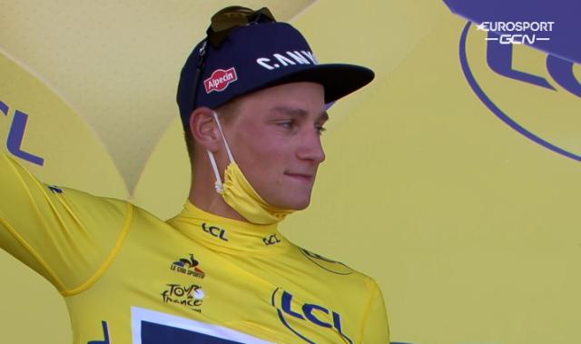 Матье ван дер Пул – победитель 2 этапа Тур де Франс-2021