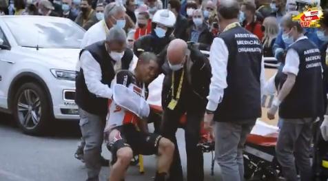 Петер Саган продолжит Тур де Франс-2021, Калеб Юэн покидает гонку после падения на 3-м этапе