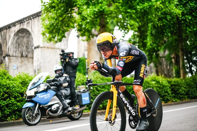 Примож Роглич, Йонас Вингегор, Ваут ван Арт о 5-м этапе Тур де Франс-2021