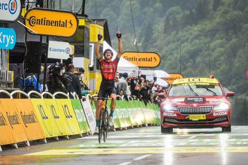Дилан Тёнс - победитель 8 этапа Тур де Франс-2021
