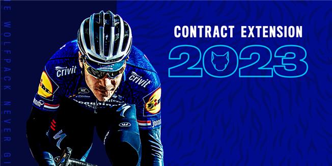 Фабио Якобсен продлил контракт с велокомандой Deceuninck-Quick Step