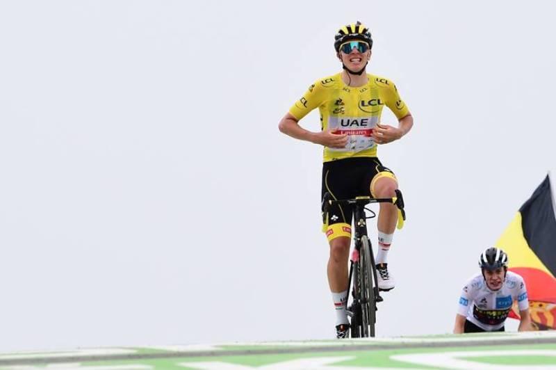 Тадей Погачар – победитель 17 этапа Тур де Франс-2021