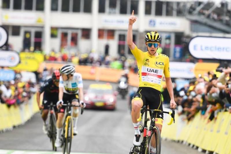 Хет-трик Тадея Погачара на Тур де Франс-2021
