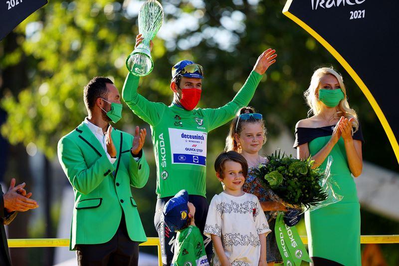 Четыре победы на этапах и зелёная майка лучшего в очковой классификации Марка Кэвендиша на Тур де Франс-2021