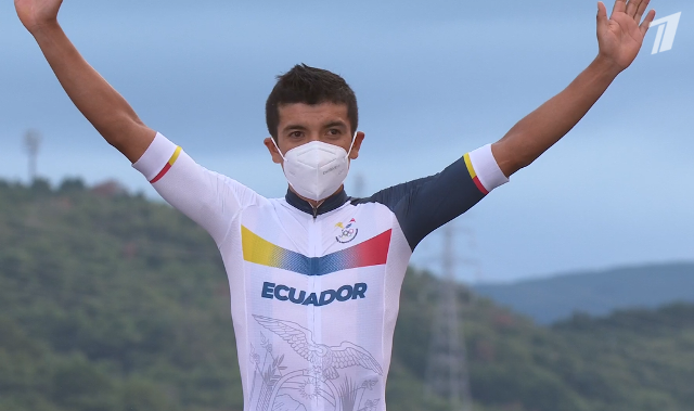 Ричард Карапас – олимпийский чемпион в групповой гонке на Олимпиаде в Токио-2020