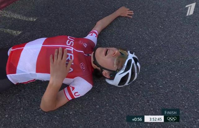 Анна Кизенхофер – олимпийская чемпионка в групповой велогонке на Олимпийских играх в Токио-2020