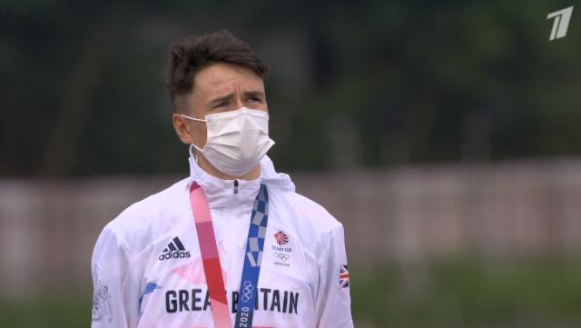 Том Пидкок - олимпийский чемпион в маунтинбайке на Олимпиаде в Токио-2020