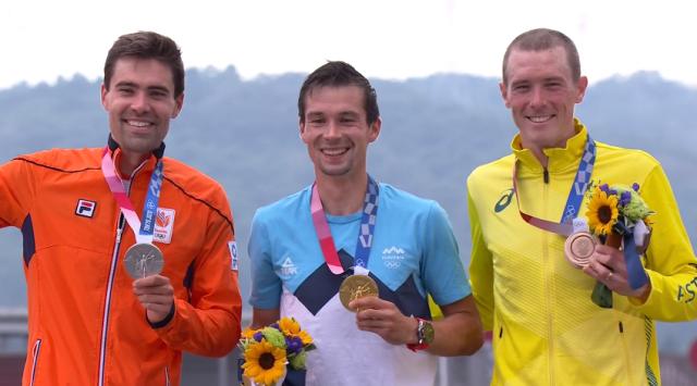 Том Дюмулин – серебряный призёр в индивидуальной гонке на время на Олимпийских играх в Токио-2020
