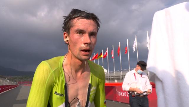 Примож Роглич – олимпийский чемпион в индивидуальной гонке на время в Токио-2020