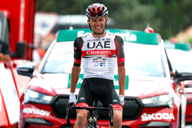 Рафал Майка - победитель 15 этапа Вуэльты Испании-2021
