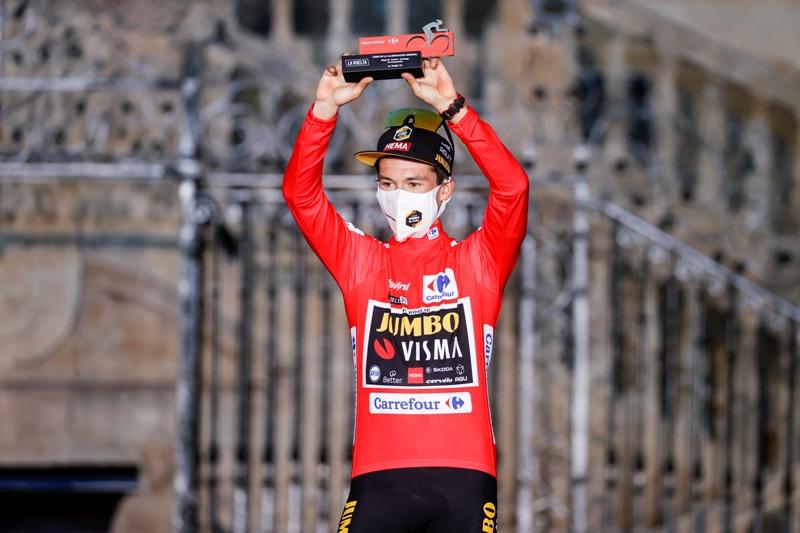 Примож Роглич - трёхкратный победитель Вуэльты Испании