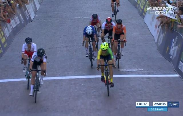Чемпионат Европы по велоспорту-2021. Групповая гонка. Женщины
