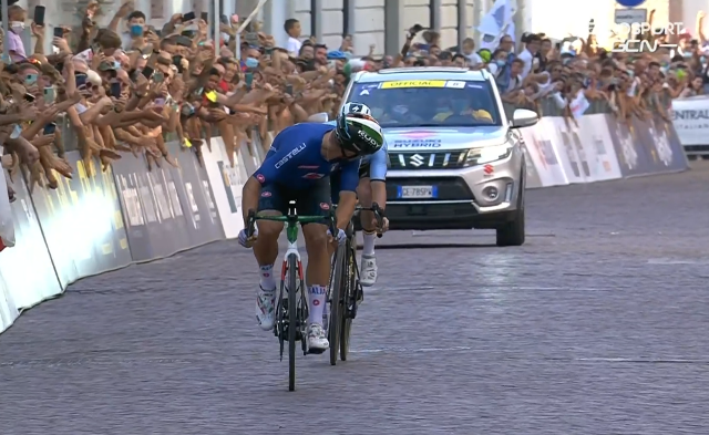 Чемпионат Европы по велоспорту-2021. Групповая гонка. Мужчины