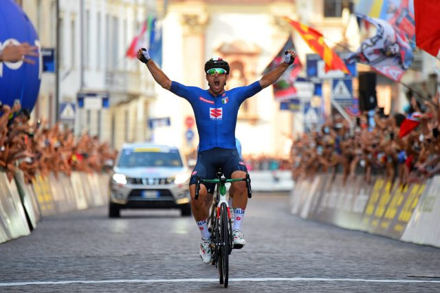Сонни Кольбрелли – чемпион Европы по велоспорту-2021 в групповой гонке