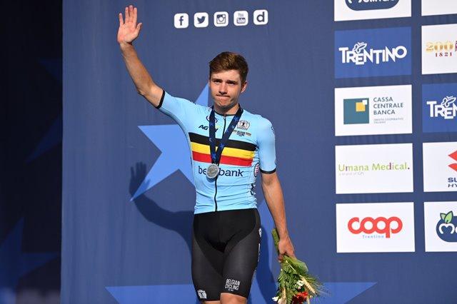 Ремко Эвенепул – серебряный призёр чемпионата Европы по велоспорту-2021