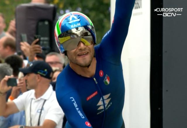 Филиппо Ганна – чемпион мира-2021 в индивидуальной гонке на время
