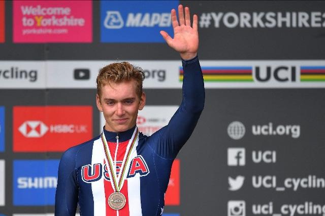 19-летний Магнус Шеффилд – новый велогонщик команды Ineos Grenadiers