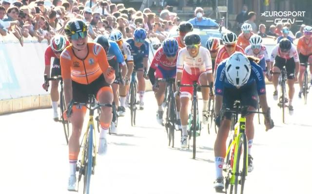 Чемпионат мира по велоспорту-2021. Групповая гонка. Женщины