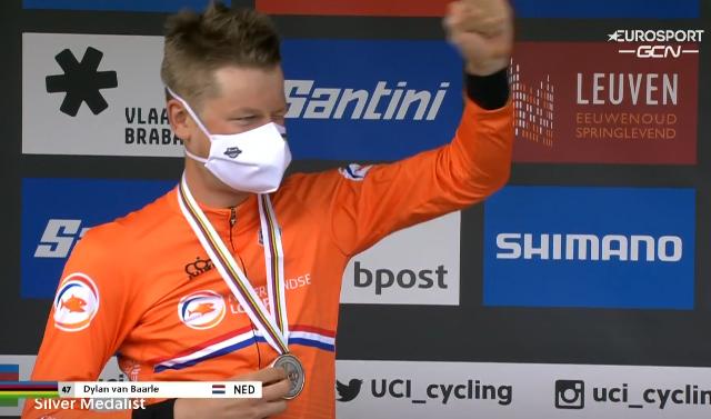 Дилан ван Барле – серебряный призёр чемпионата мира по велоспорту-2021