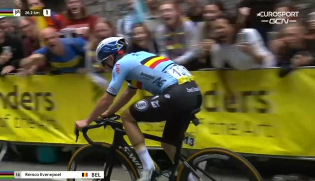 Ремко Эвенепул о выступлении сборной Бельгии в групповой гонке чемпионата мира по велоспорту-2021