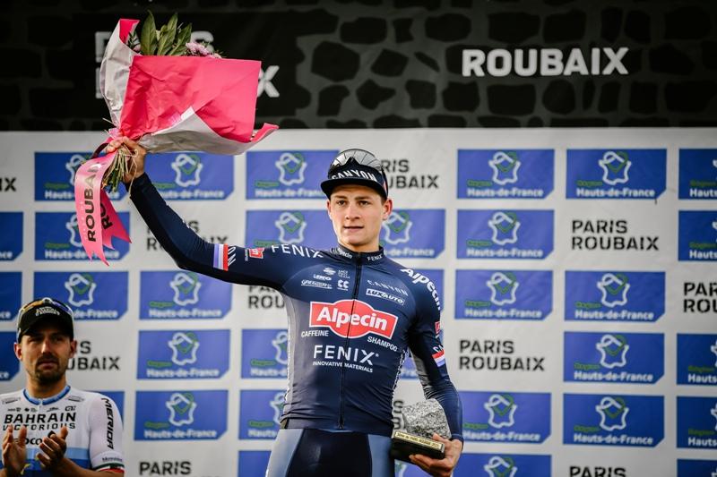 Матье ван дер Пул – призёр на дебютном Париж-Рубэ