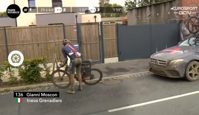 Джанни Москон 4-й на Париж-Рубэ-2021
