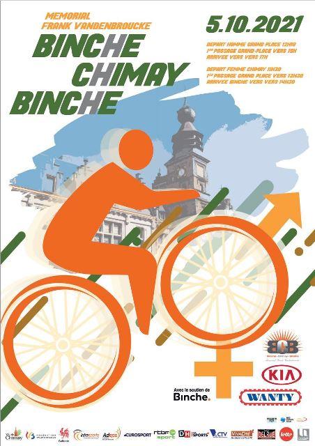 Binche - Chimay - Binche / Memorial Frank Vandenbroucke-2021. Результаты