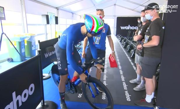 Филиппо Ганна задумался об установлении часового рекорда на велотреке