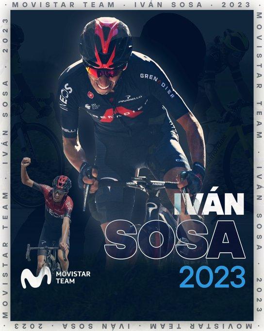 Иван Соса подписал двухлетний контракт с велокомандой Movistar