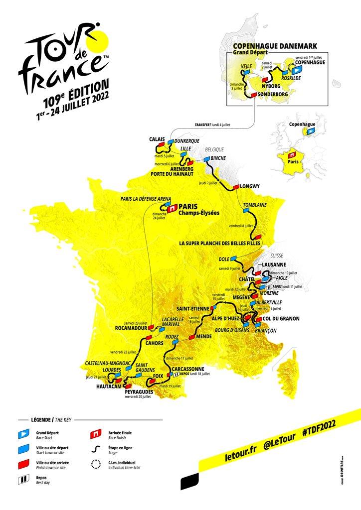 Глава велокоманды Jumbo-Visma Ричард Плюгге о маршруте Тур де Франс-2022