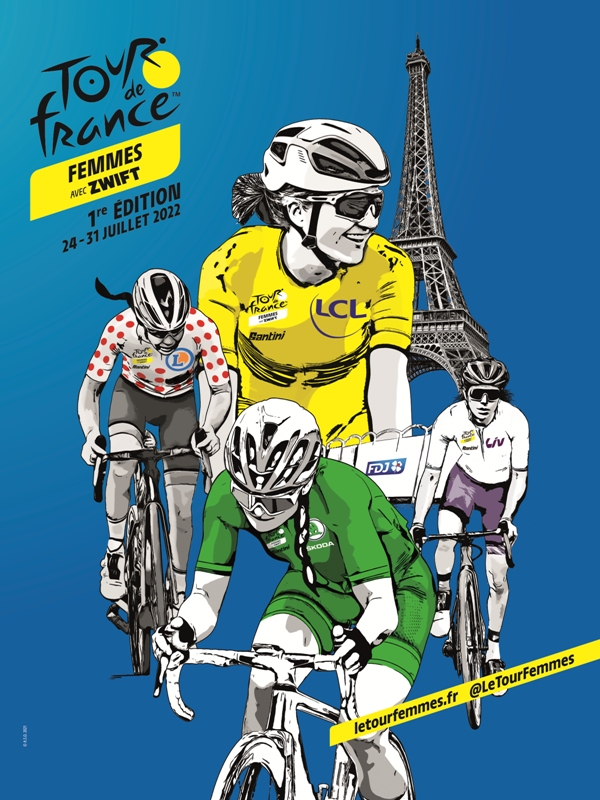 1-й выпуск женского Тур де Франс состоится в 2022 году