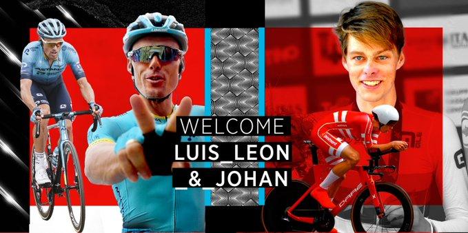 Луис Леон Санчес и Йохан Прайс-Пайтерсен – новые велогонщики команды Bahrain Victorious