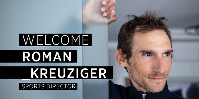 Роман Кройцигер –новый спортивный директор команды Bahrain Victorious